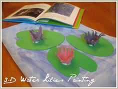 Relentlessly Fun, Deceptively Educational: Replicating Monet's Water Lilies (in 3-D)
