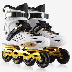 69.83$  Watch now - http://aligoz.worldwells.pw/go.php?t=32787597907 - Hot Sale Adult Women Men Professional Roller Skating Inline Skates Shoes Durable Slalom/Braking/FSK Hockey Patines Rollerblading 69.83$