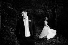 Fun and Artistic Wedding Photos. Nashville Wedding Photographers. Bride and Groom. Hayley Paige Wedding Dress. www.bradandjen.com