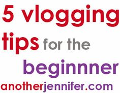 Looking to incorporate video into your blog? Here are 5 vlogging tips for beginners!