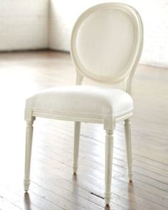 Louis XVI Oval Side Chair - Black chair - Walnut Chair - Hickory Chair, Pecan Chair
