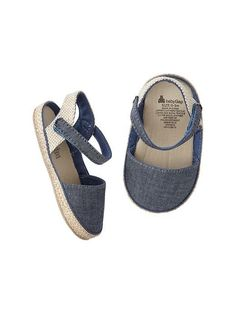 Chambray espadrilles Product Image
