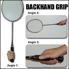 Starting with a correct Badminton Grip is the foundation of Playing Badminton. Holding the racket wrongly will decrease your stroke's power and accuracy.