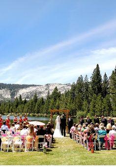 A gorgeous Lake Tahoe Wedding. #destination #weddings #travel