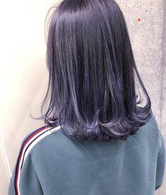 Bright Hair, Dye My Hair, Purple Hair, Hair Inspo, Cute Hairstyles, Asian Beauty, Hair Makeup, Hair Color, Hair Beauty