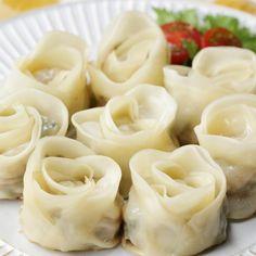 Rose Dumplings Recipe by Tasty