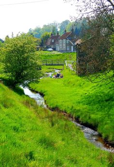 Hutton-Le-Hole, North York Moors, North Yorkshire, England via ♔ Enchanted Fairytale Dreams ♔