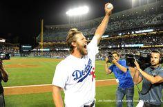 Clayton Kershaw's no hitter. Go Dodgers!