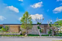 Built by Yamazaki Kentaro Design Workshop in Itoman, Japan with surface 84.0. Images by Nahoko Koide. The Itoman Gyomin Shokudo, located in Itoman, Okinawa was conceived with the aim of supporting and promoting the loca...