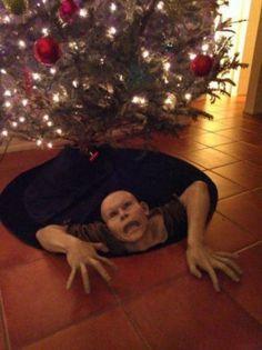 ...Garden zombie...Christmas zombie...