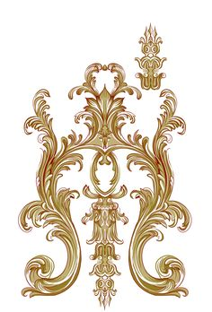 Textile Floral Ornament Motif New Beautiful Stock Illustration 1537603718 Border Embroidery Designs, Gold Embroidery, Baroque Pattern, Pattern Art, Arabesque, Decoration, Art Decor, Flower Art Images, Baroque Art