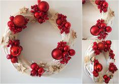 Wianek na drzwi / Door decoration, święta/ Christmas