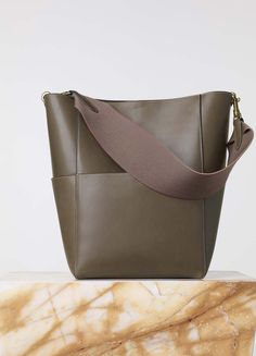 Sangle Seau Bag in Natural Calfskin - Fall   Winter Collection 2015  fb4b3a1302209