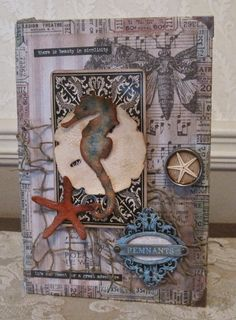 Create With Me: Down by the Sea - a Mini Configuration Book - Richele Christensen class!