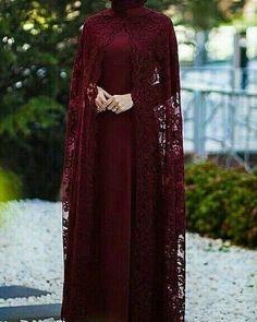 Dress brokat muslimah hijab fashion 22 trendy Ideas Source by yuttaarief dress Hijab Evening Dress, Hijab Dress Party, Hijab Wedding Dresses, Bridal Dresses, Evening Gowns, Chiffon Evening Dresses, Hijabi Gowns, Wedding Robe, Wedding Abaya