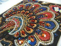 ❤ビーズ刺繍 アトリエカノン❤:オランダ更紗 アリワーク ルサージュ