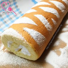 This swiss roll may looks ordinary to you but it mean a lot to me.   It was the recipe that I used in my......   ~ first time baking s...