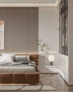 Modern Luxury Bedroom, Master Bedroom Interior, Modern Master Bedroom, Contemporary Bedroom, Luxurious Bedrooms, Home Decor Bedroom, Bedroom Closet Design, Modern Room, Luxury Homes Interior