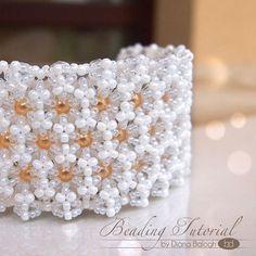DIY jewelry making tutorial Hexa bracelet by DiasJewelryShop