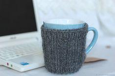 284646659f2 Купить Кружка в одежке грелке свитере в интернет магазине на Ярмарке  Мастеров