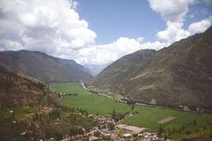 The Sacred Valley in Peru