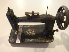 Antique 1887 New Home Treadle Sewing Machine ~Old Vintage Crafts Industrial