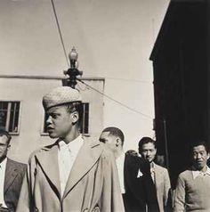WALKER EVANS (1903-1975)  Street Portrait, Chicago, 1946