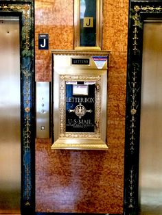 New York City's Mail Chutes are Lovely, Ingenious and Almost Entirely Ignored | Atlas Obscura