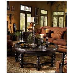 Shop for the Tommy Bahama Home Kingstown Round Plantation Cocktail Table at Hudson's Furniture - Your Tampa, St Petersburg, Orlando, Ormond Beach & Sarasota Florida Furniture & Mattress Store West Indies Decor, West Indies Style, British West Indies, Palm Beach, Melbourne, British Colonial Decor, Lexington Home, Florida, Nebraska Furniture Mart