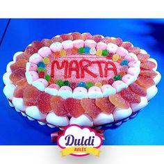 Tarta de Duldi Avilés para Marta. Convencidos de que le encanta!!