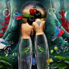 'Love Birds' © Beth Todd 2015 All Rights Reserved Created with Holliewood Studio's 'Altered Reality V2' http://www.mischiefcircus.com/shop/product.php?productid=22629&cat=&page=  *Credit to xstockx @ Devinatart for the stock photo of the women*