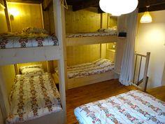 Chambre façon refuge confort, chalet location individuel, Camp de Base de l'Enversin, Oz en Oisans, Vaujany