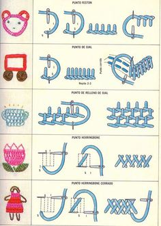 Sewing Stitches For Beginners Embroidery Stitches Tutorial, Sewing Stitches, Hand Embroidery Designs, Embroidery Techniques, Embroidery Patterns, Silk Ribbon Embroidery, Diy Embroidery, Cross Stitch Embroidery, Stitch Book