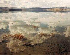 Richard Misrach, Mono Lake #2, California, 1999 Contemporary Photographers, Great Photographers, Fine Art Photography, Landscape Photography, Heart Photography, Digital Photography, Beautiful World, Beautiful Images, Richard Misrach
