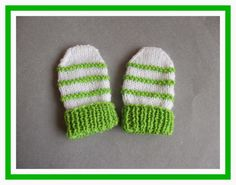 This cute little baby hat, mittens & booties set is just perfect for a newborn baby gift.  They arequick & simple tomake - and a g...