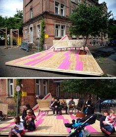 Toy Parking / Tüftle (at 72 Hours urban action STUTTGART)