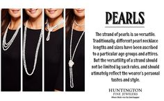 Different ways to wear your pearls!