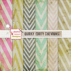 Quirky {dirty chevrons}