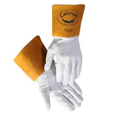 Caiman Goat Grain Tig Welding Glove