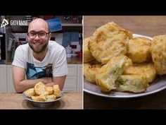 FRITTATINE DI PASTA NAPOLETANE - Ricetta in 1 minuto - YouTube Antipasto, Dumplings, Street Food, Happy Hour, Finger Foods, Buffet, French Toast, Appetizers, Chicken
