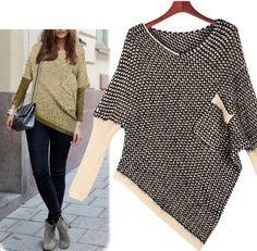 Women's Pocket Unbalanced Knit