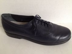 SAS Shoes Womens Size 7.5 Narrow Lace Up Made in USA Blue Tripad Comfort 7 1/2 N #SAS #Oxfords