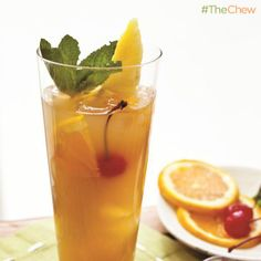 Clinton Kelly's Zombie #Cocktail #TheChew Theres more at http://porkrecipe.org/posts/Clinton-Kellys-Zombie-Cocktail-TheChew-43286
