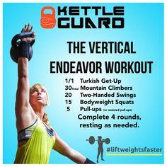 Kettlebell HIIT workout