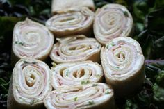 Tortilla Pinwheels from Food.com: These are the perfect appetizer for any meal. They are also great to take to parties and for holiday get together.