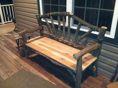Locus / cedar bench
