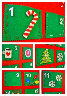 Make Life Lovely: DIY Felt Advent Calendar