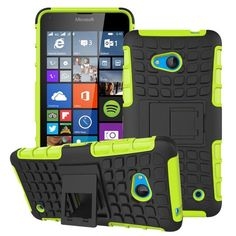 Luxury Hybrid TPU Shock Proof Silicone + Hard Shell Cell Phone Case Cover For Microsoft Lumia 640 Lte Dual Sim Case Back Cover