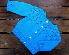 12+ Free Baby Knitting Patterns for 2019 to Download Now! Free knitting pattern for a baby cardigan with lace stitch