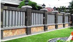 31 Best Desain Model Pagar Tembok Minimalis Modern Elegan